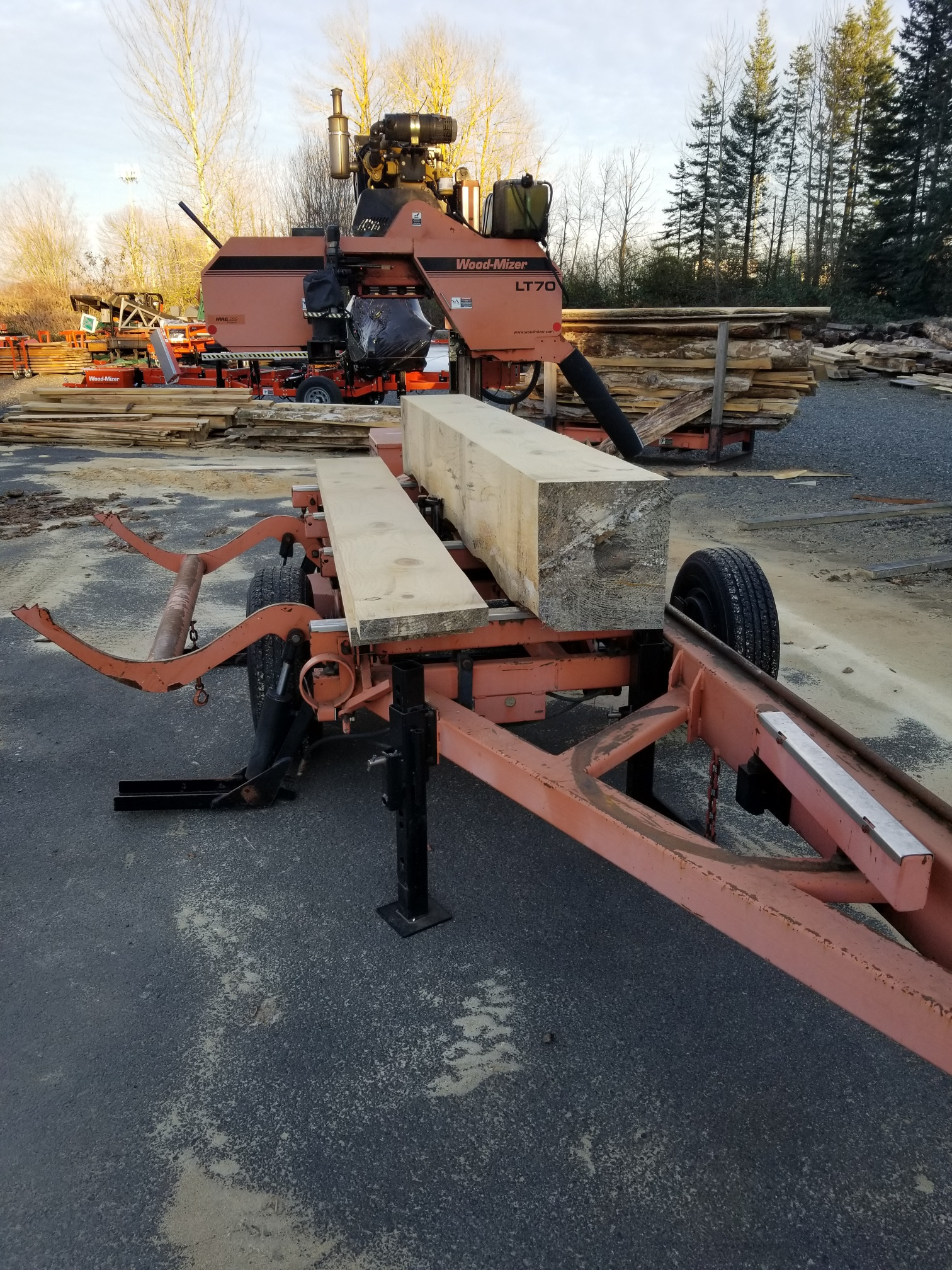 Woodmizer Sawmill For Sale >> Used Sawmills