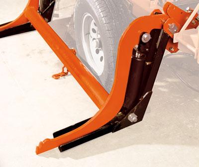 Hydraulic Log Loading/Turning Kit