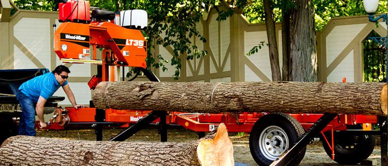 Woodmizer Sawmill For Sale >> LT35 Manual Portable Sawmill
